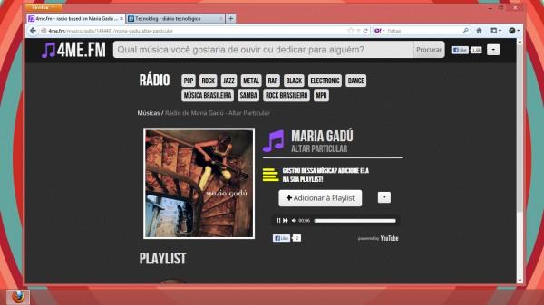Rádio de música brasileira