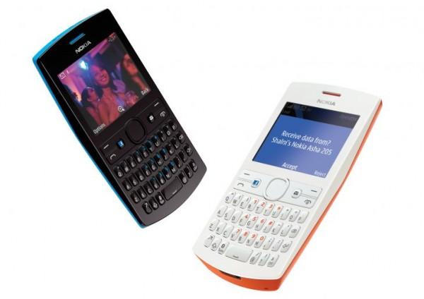 Nokia Asha 205 roda S40