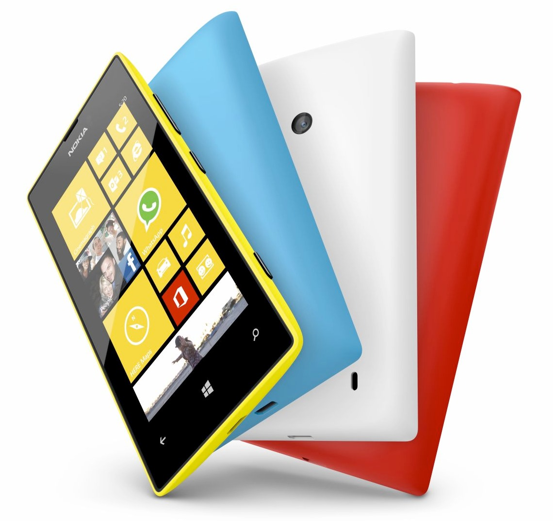 Lumia 720 e Lumia 520 revelados