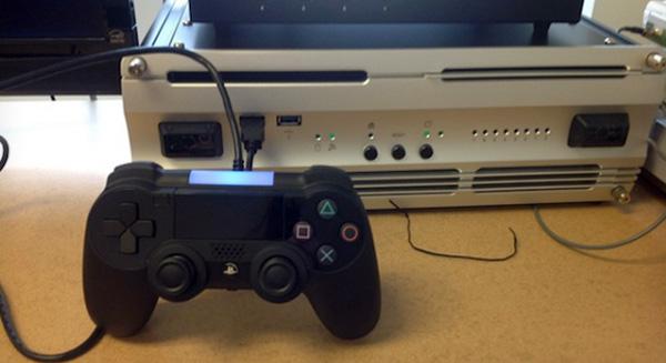 Imagem que caiu na rede do suposto PlayStation 4