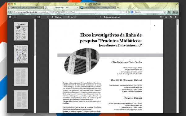 PDF no Firefox