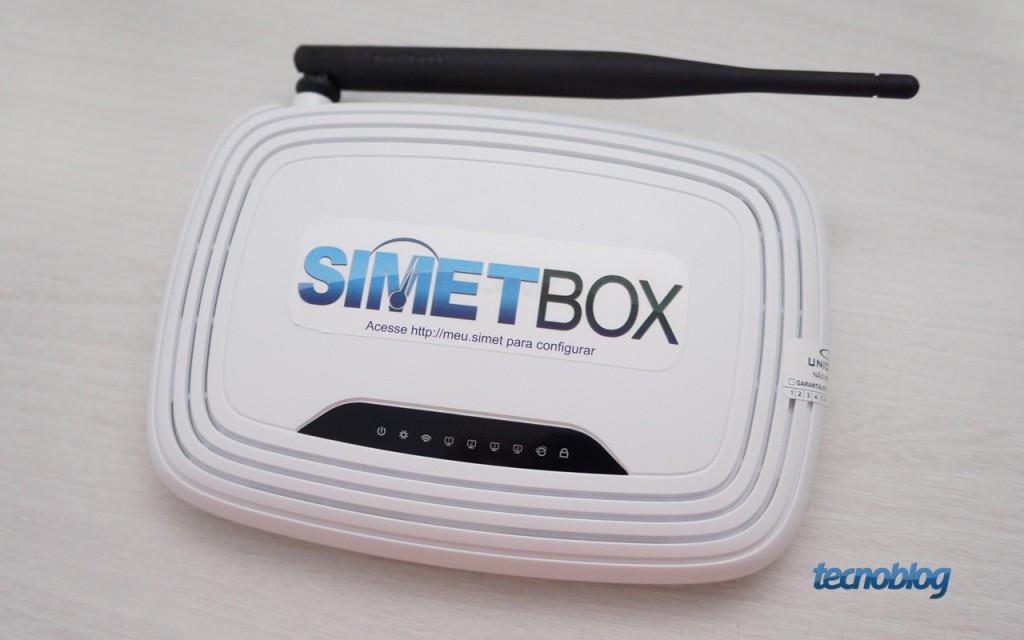 Você pode instalar o firmware do SIMET Box no seu roteador – Tecnoblog