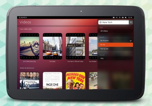 Ubuntu para tablets