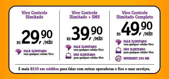 1cbde9e630e Vivo apresenta plano Controle com serviços ilimitados – Tecnoblog