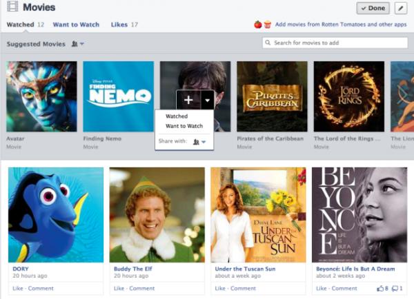 filmes-facebook-nova-timeline