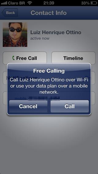Ligação gratuita no Facebook: operadoras, tremei?