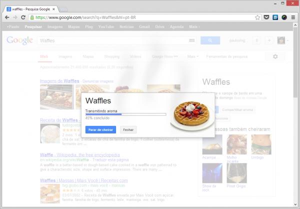google-nose-busca