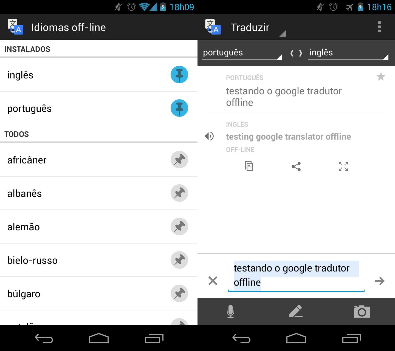 Google Tradutor Para Android Agora Funciona Mesmo Sem Internet
