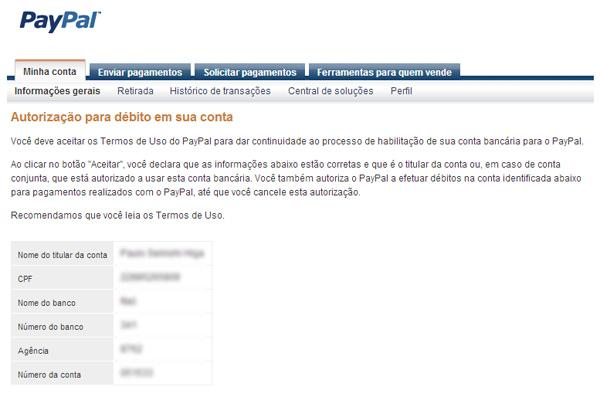 2ece0c94a09b PayPal Brasil agora permite pagamento através de débito em conta ...