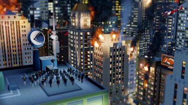 """Incêndio em """"SimCity"""""""