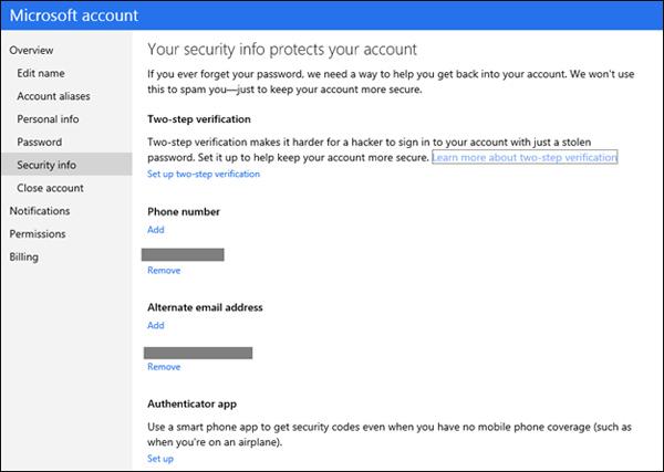 microsoft-account-autenticacao-dois-fatores