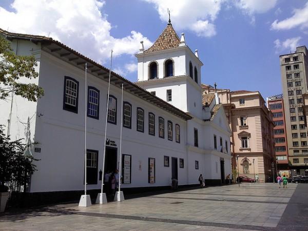 Pateo do Collegio, onde São Paulo começou e onde começa o Wi-Fi em São Paulo (créditos: GuiC/Flickr)