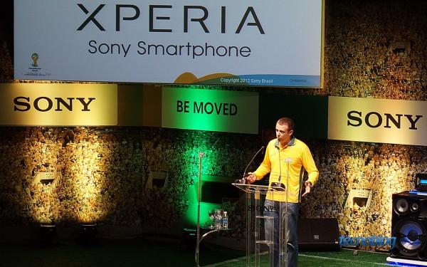 Ricardo Junqueira, presidente da Sony Mobile no Brasil