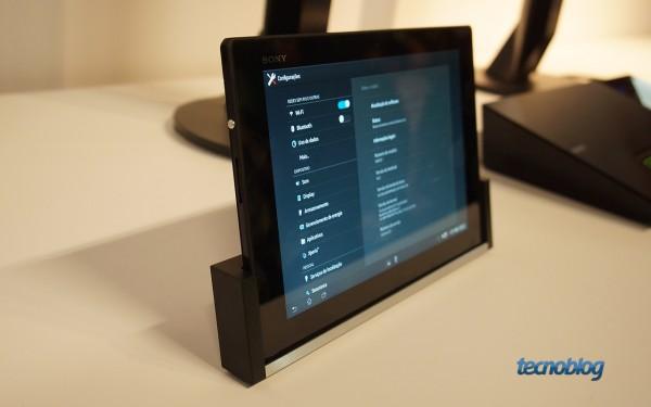 Sony Xperia Tablet Z (sim, ele é muito fino)