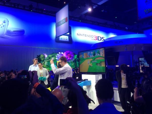 Produtores de SM3DW apresentam o game a carater.