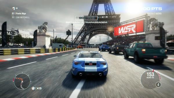 Olha, é a Torre Eiffel!