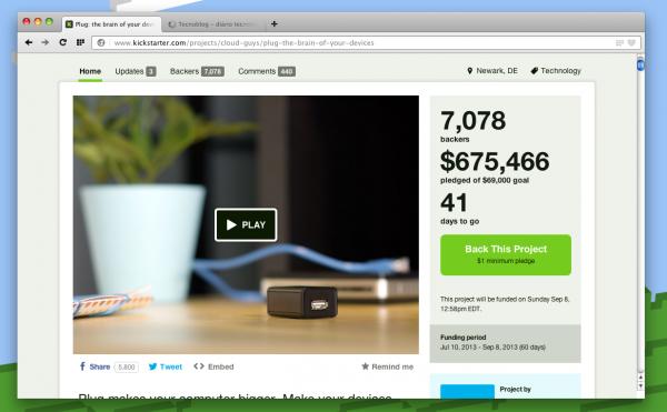 Eles queriam 69k. Eles já têm 700k.