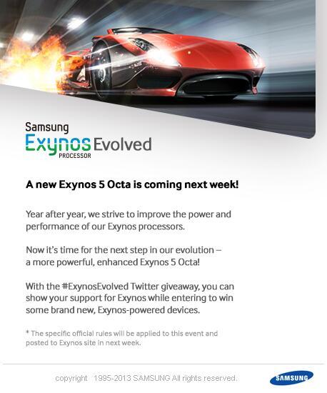 Anúncio do novo Exynos 5 Octa