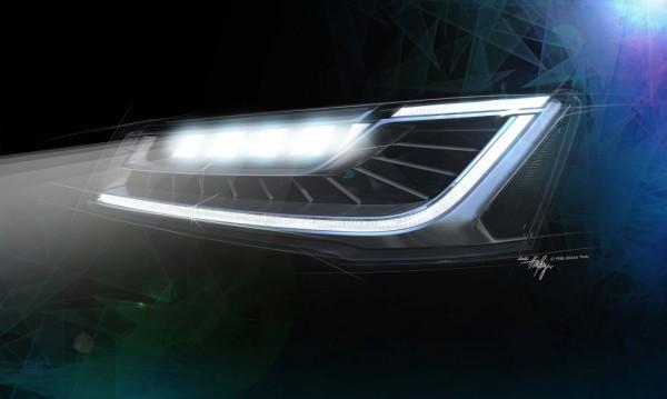 Farol Audi Matrix LED
