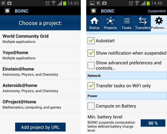 BOINC para Android