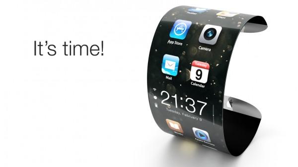 Imagem conceitual do iWatch (por favor, Apple, não faça nada parecido com isso)