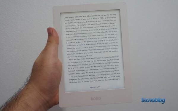 Kobo fez um bom e-reader, mas cobra caro por isso