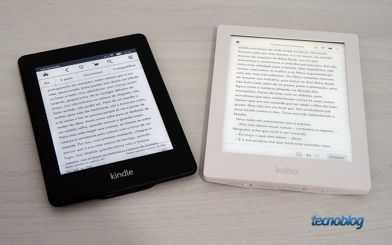 review kobo aura hd um e reader com tela impressionante an lise v deo tecnoblog. Black Bedroom Furniture Sets. Home Design Ideas