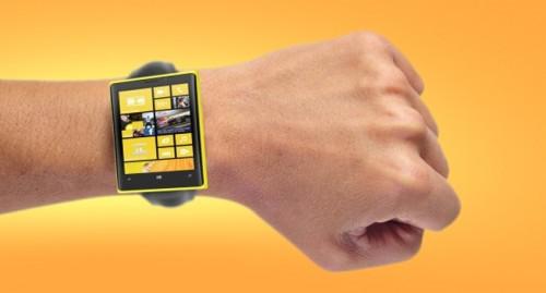 Essa é só uma representação artísitca do smartwatch da Microsoft. Se Deus quiser, não vai ser nada parecido com isso.