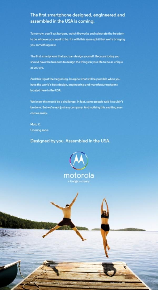 Será que a Motorola vai deixar você personalizar o hardware do Moto X? – Tecnoblog