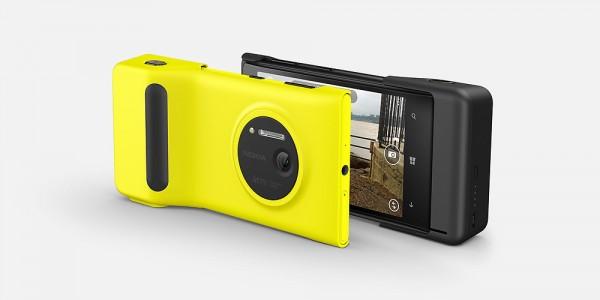 Este acessório melhora a ergonomia do Lumia 1020 (e deixa ele mais parecido com uma câmera)