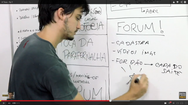 Felipe Neto em vídeo de humor da Parafernalha