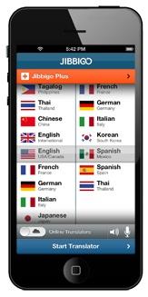 Aplicativo Jibbigo entende diversas línguas