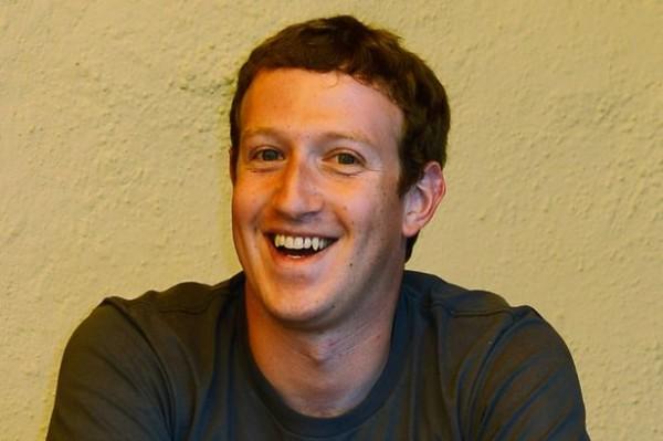 Já o Mark Zuckerberg parece ser um cara bem feliz