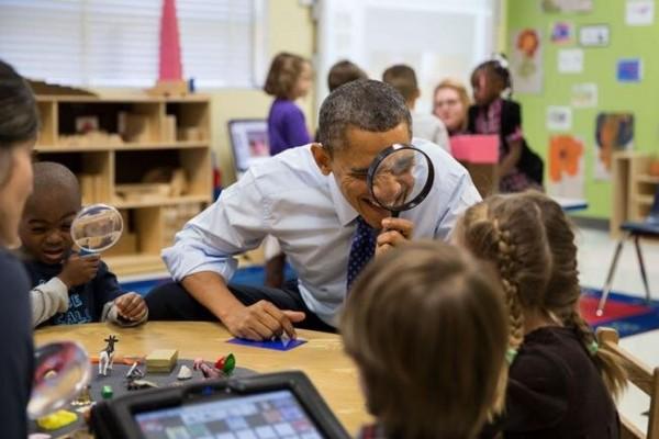 Obama está de olho