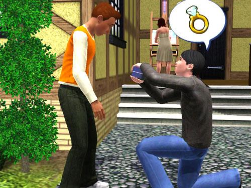 Casamento gay é legalizado no The Sims