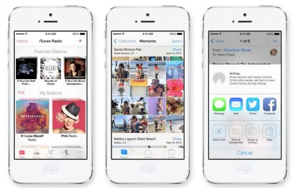 iOS 7 foi visto pela primeira vez na WWDC 2013