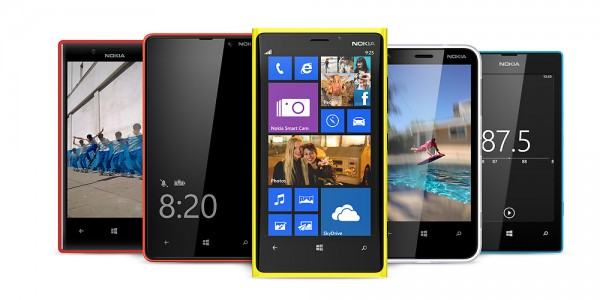 Estima-se que pelo menos 80% dos aparelhos com Windows Phone são produzidos pela Nokia