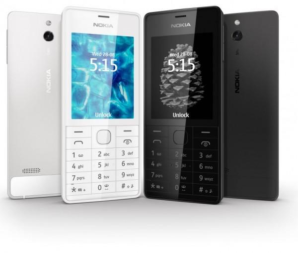 Nokia 515: somente nas cores preta e branca