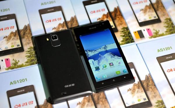 smartphone-android-coreia-do-norte