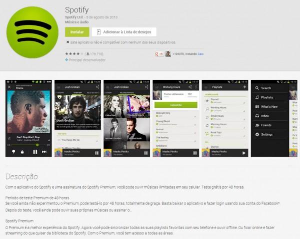 Spotify para Android agora suporta português (mas ainda não pode ser instalado oficialmente no Brasil)