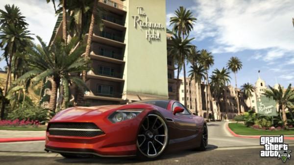 The Richman Hotel, feito à imagem e semelhança do Beverly Hills Hotel: a cidade de Los Santos é uma mini Los Angeles perfeita