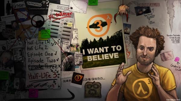 A melhor imagem para ilustrar a espera por Half-Life 3