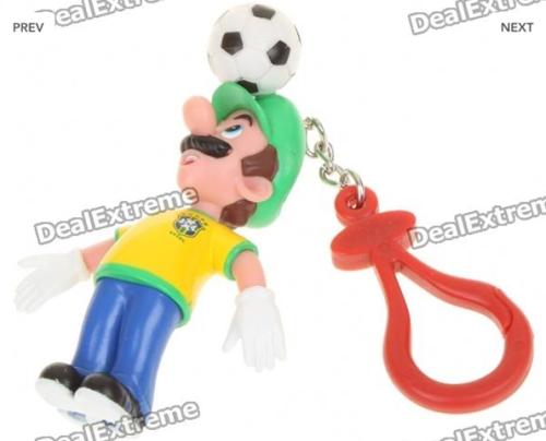 """Só em sites chineses você pode comprar um """"Luigi brazuca"""" sem culpa"""