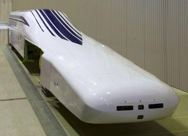 Carro-líder do maglev japonês