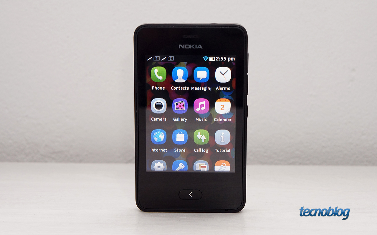 Review Uma olhada de perto no Asha 501, o celular de R ...