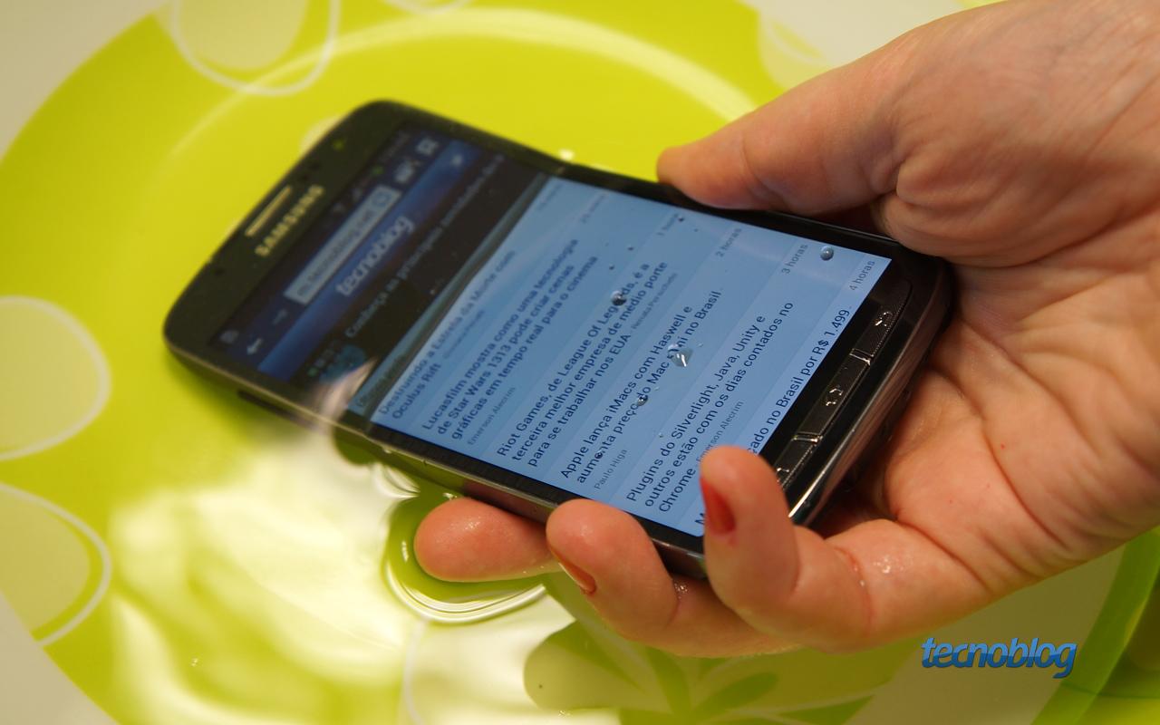 Review Galaxy S4 Active, o smartphone que sabe nadar [análise/vídeo] - Tecnoblog