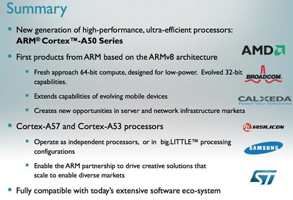 Características do futuro Exynos de 64 bits