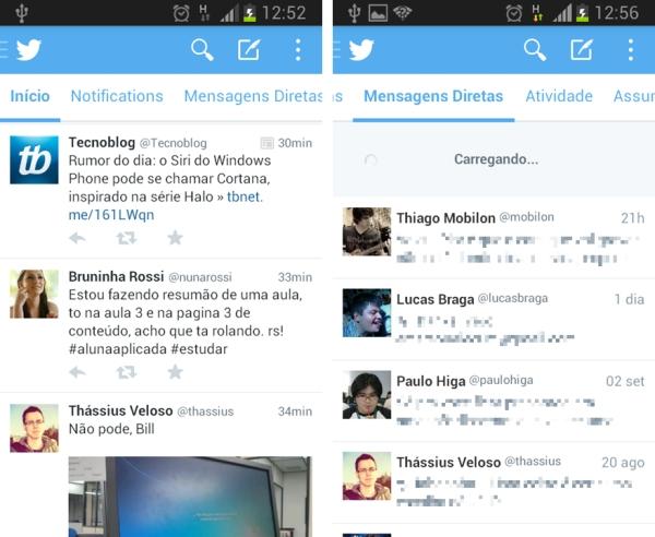 Twitter 5.0 beta para Android