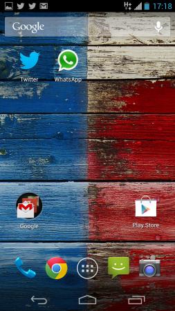 O Android da Motorola