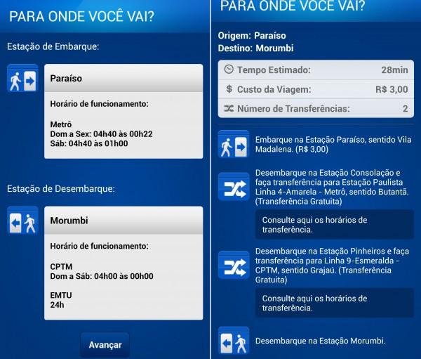 app metro sp